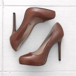 Brown / Dark Cognac Pumps